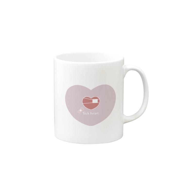 PunctataのSick heart. Mug