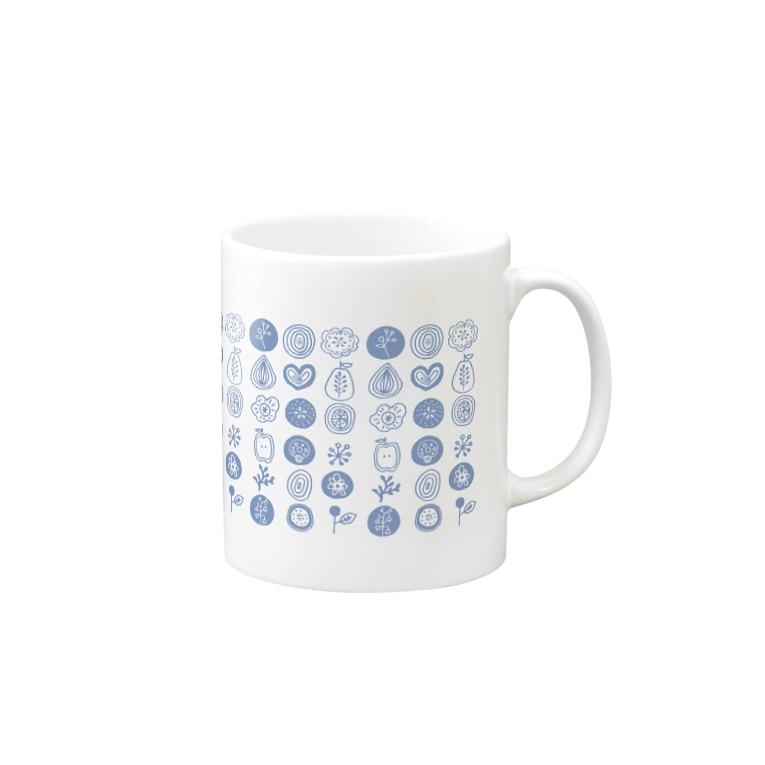 イザワメイのオンラインショップのおはなもよう Mugs