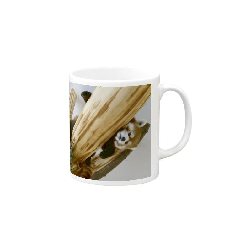 パンパンパンダのれっさーぱんだ! Mug
