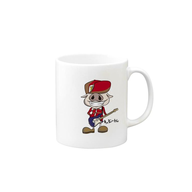 音小屋REBOOTのギタリストPig🐽りぶーとん Mugs