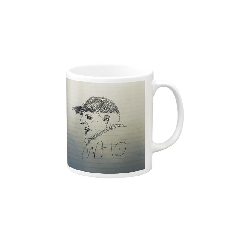 Huh HuhのWho!? Mugs