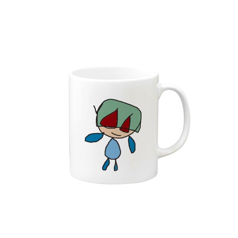 Desert Roseのへいわマン Mugs