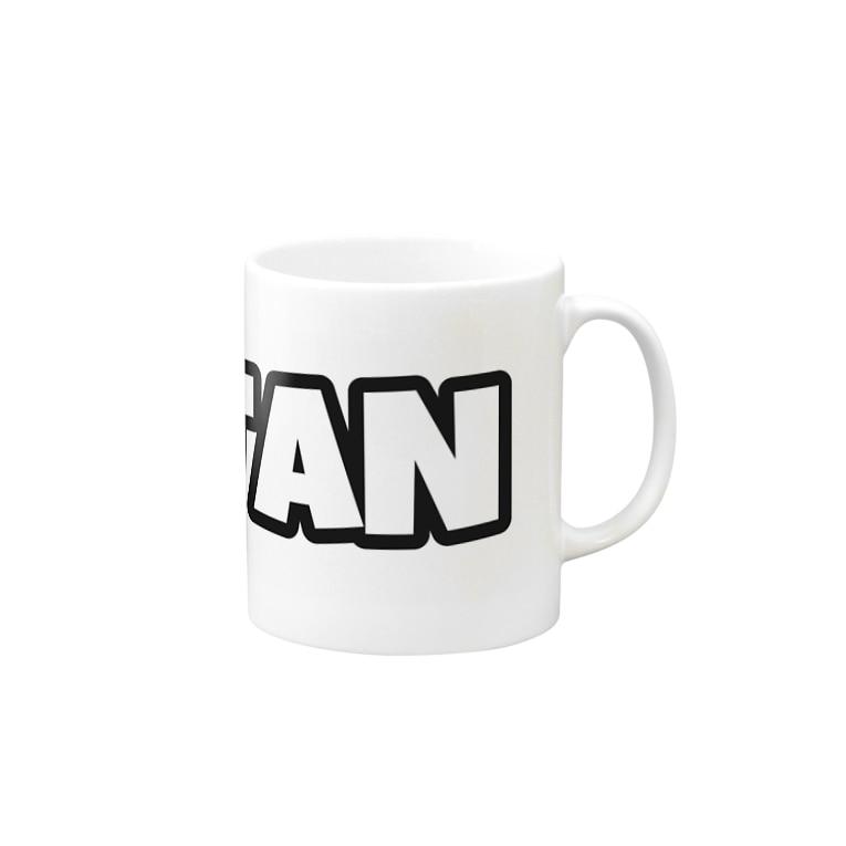 響のHIBITANBRAND Mug