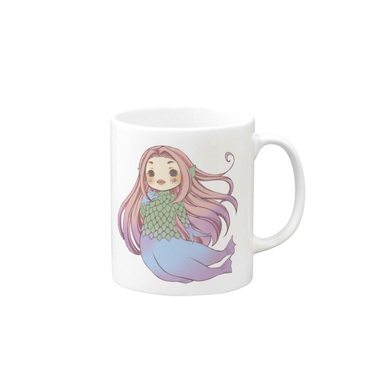 ルミ*withUのアマビエ様 Mugs