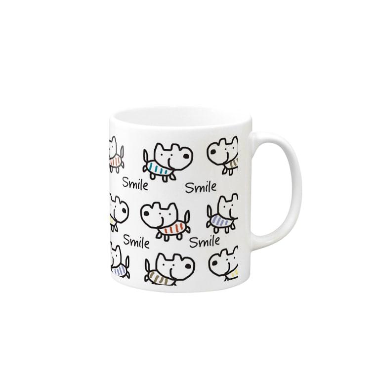 chaamootのスマイルドック🐕 Mugs