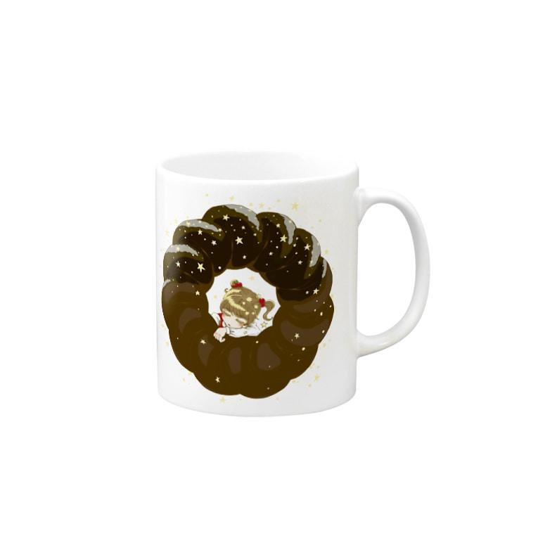 あゆみとみちるの幼女とチョコレートドーナツ Mugs