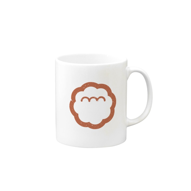 エンエンラのエンエンラ シンボルロゴ(赤) Mugs