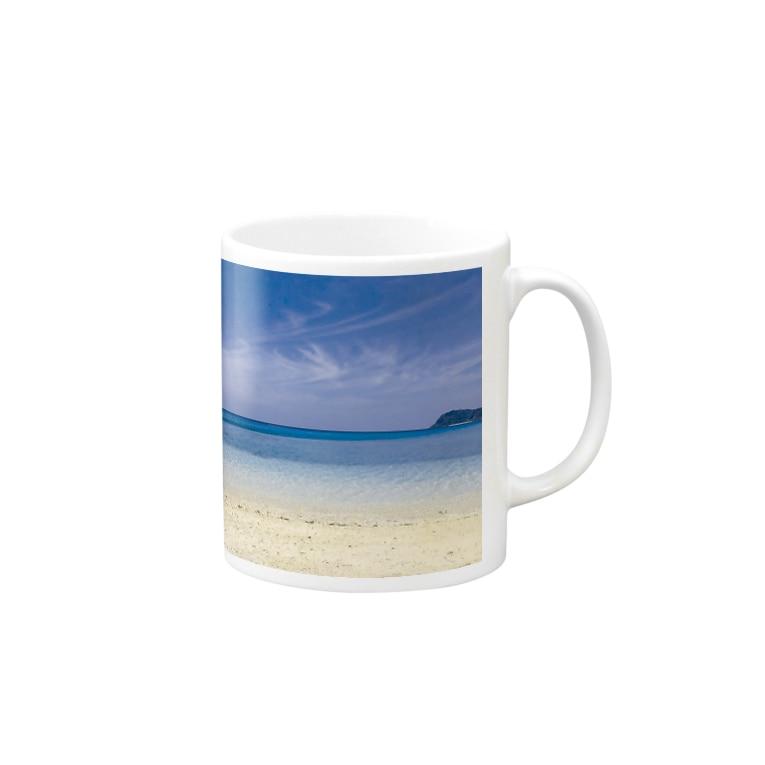 mizuphoto.comのsecret blue Mugs