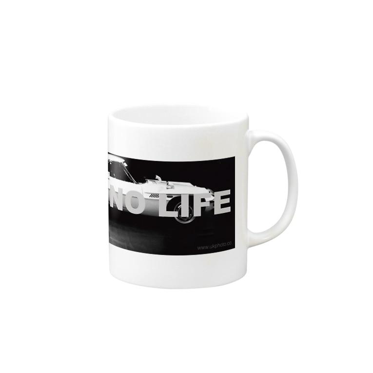 ukphotoのNO GR NO LIFE Mugs