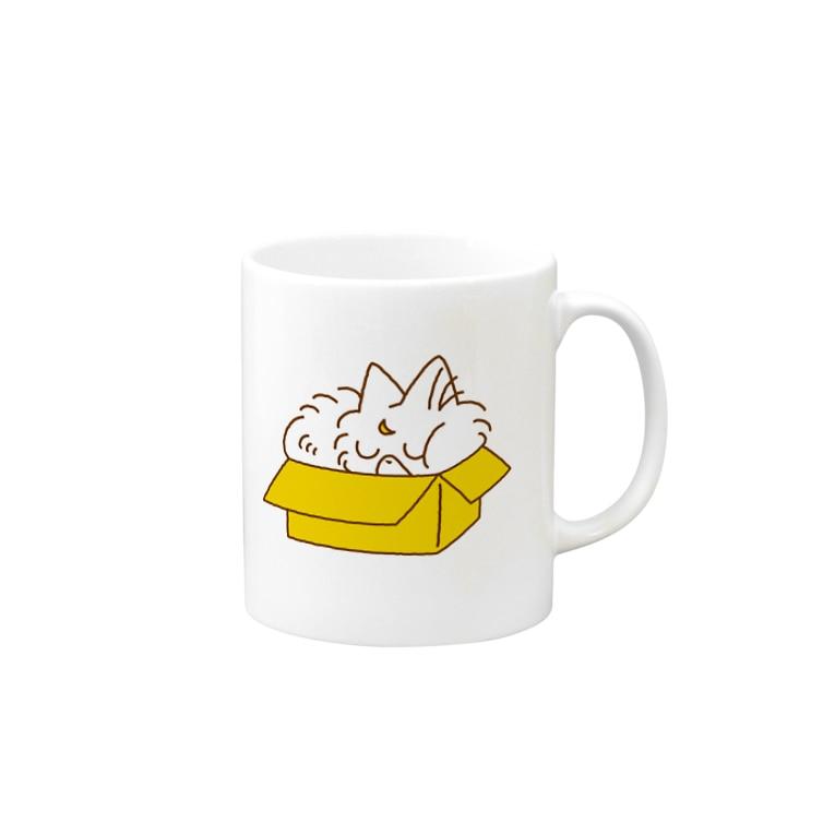 きんのにぼしデザインのおやすみにぼしちゃん Mug