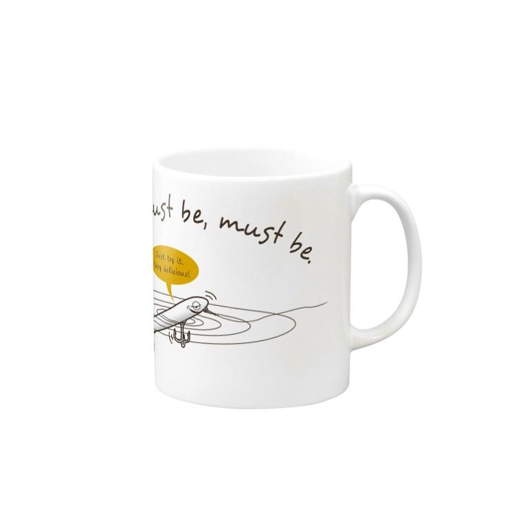 NB-Worksのペンシルくん Mugs