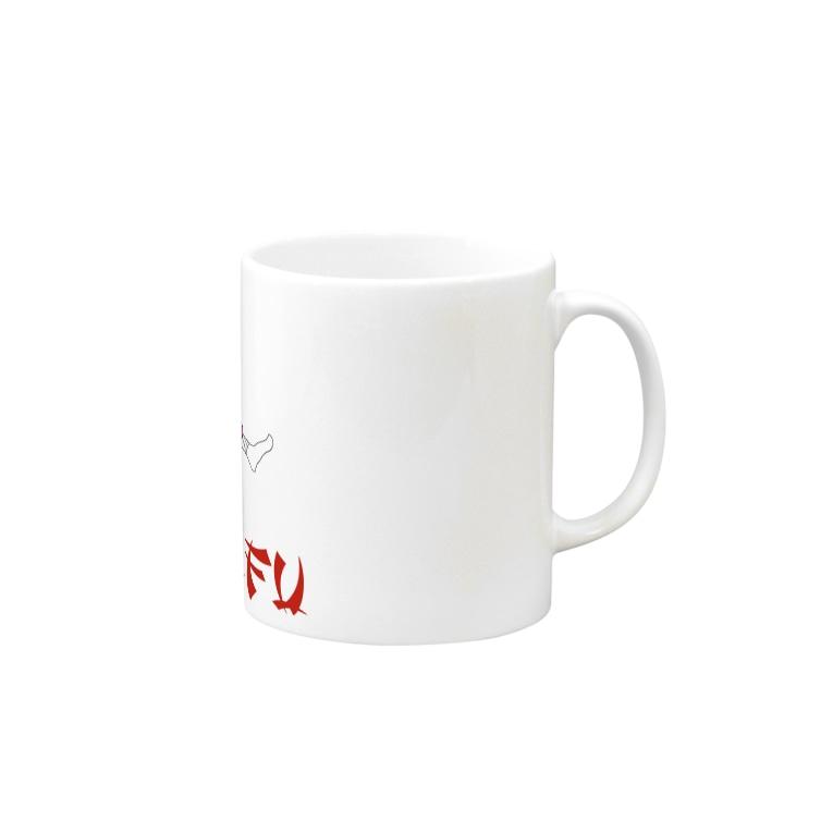 KeitaOmoriのカンフー Mugs
