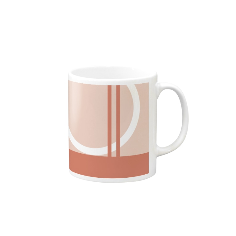 CHAKEのstylish pink Mugs
