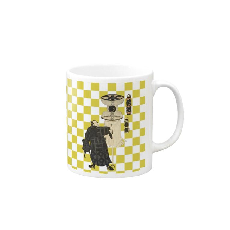 Rigelの江戸の花子供遊び 二番組め組 マグカップ Mugs