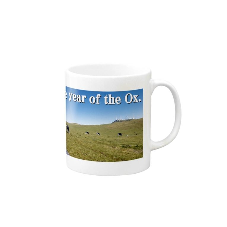 🏠やしおこうの秘密基地のThe year of the Ox. Mugs