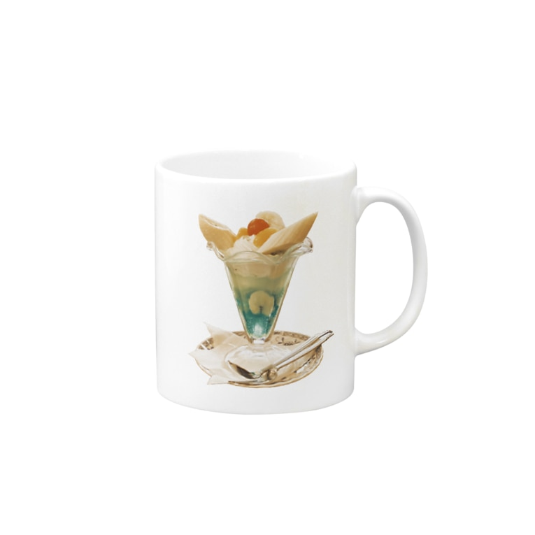 ふくだのバナナパフェ Mug