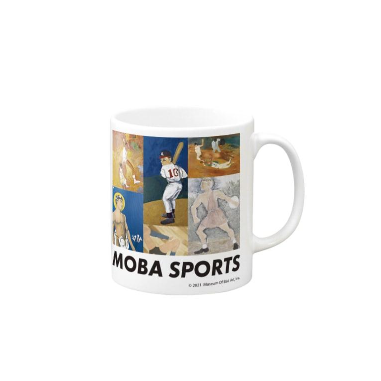 バッドアート美術館のバッドアートスポーツ Mugs