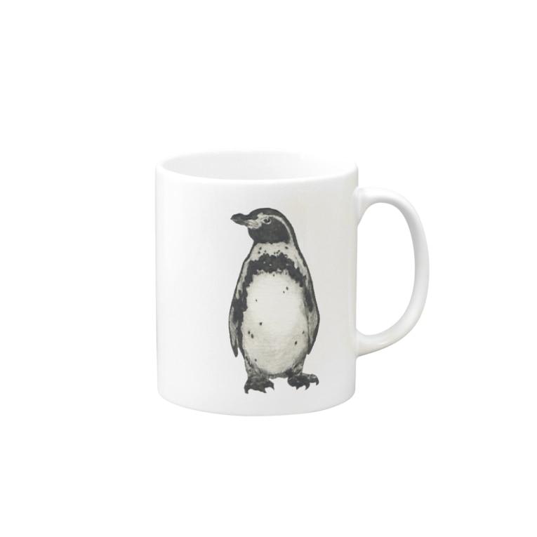 一寸五分舎のフンボルトペンギン Mugs