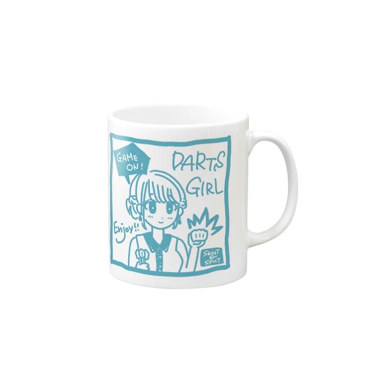SWEET&SPICY 【すいすぱ】のGAME ON! 【SWEET LIGHTBLUE】 Mugs