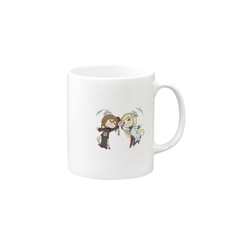 いおんの癒しのグッドアフタヌーンティー(烏龍茶&ジャスミン茶) Mugs