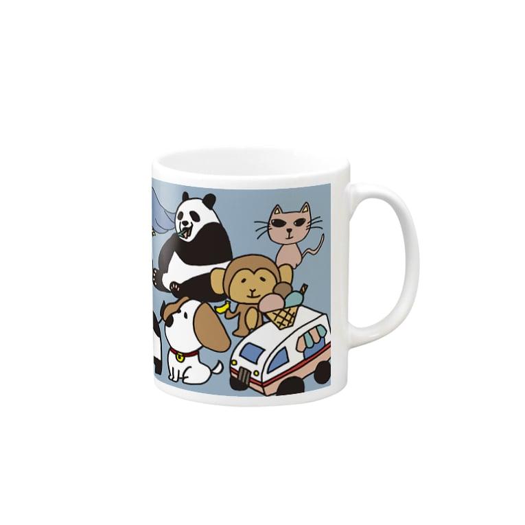 materialize.jpのFRIENZOO マグカップ Mugs