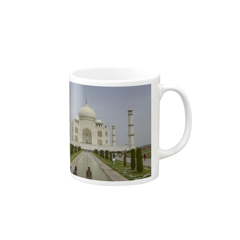 TRIP TRIPのタージマハル Mugs