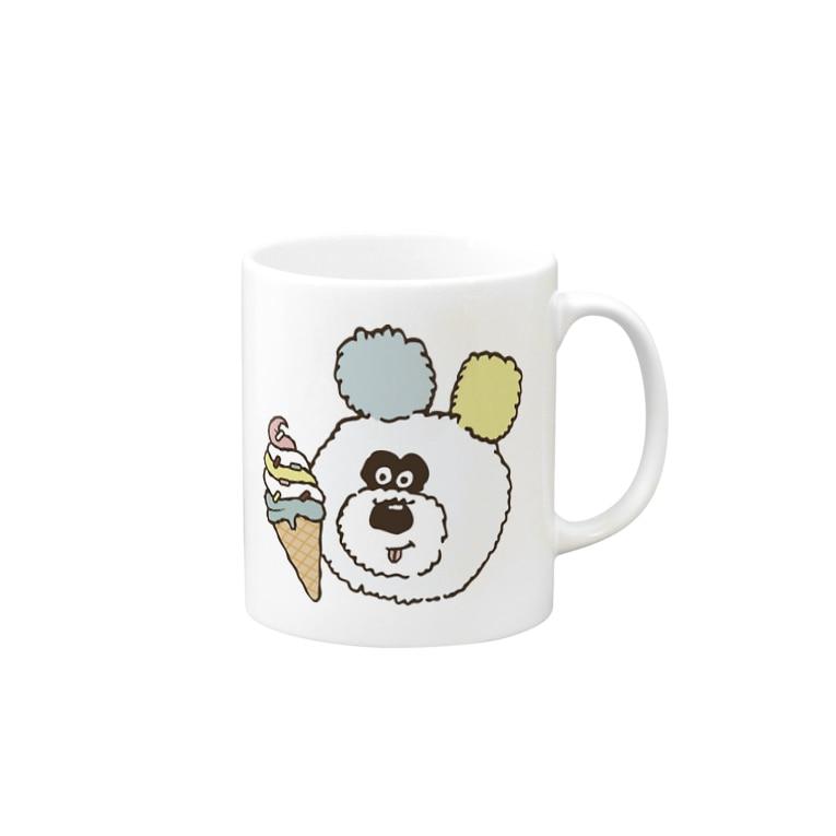 りのくまちゃんのアイスとりのくまちゃん Mug