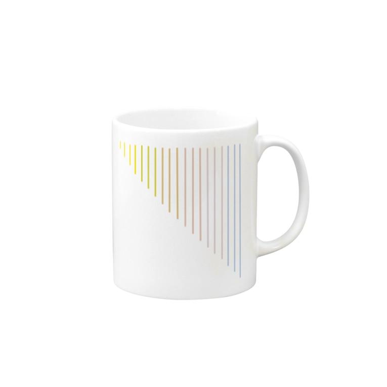 つめくさカップ店の夕暮れ Mugs