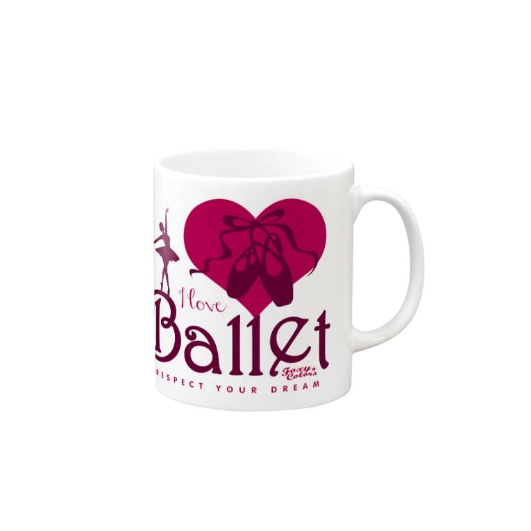 FOXY COLORSのI Love Ballet B Mug