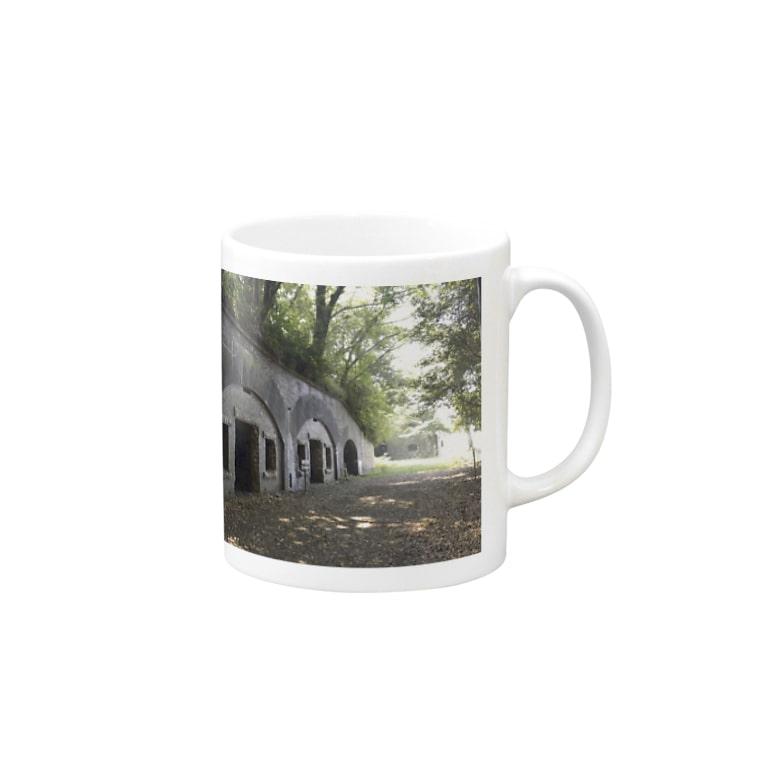 ryotarinの瀬戸内のラピュタ Mugs