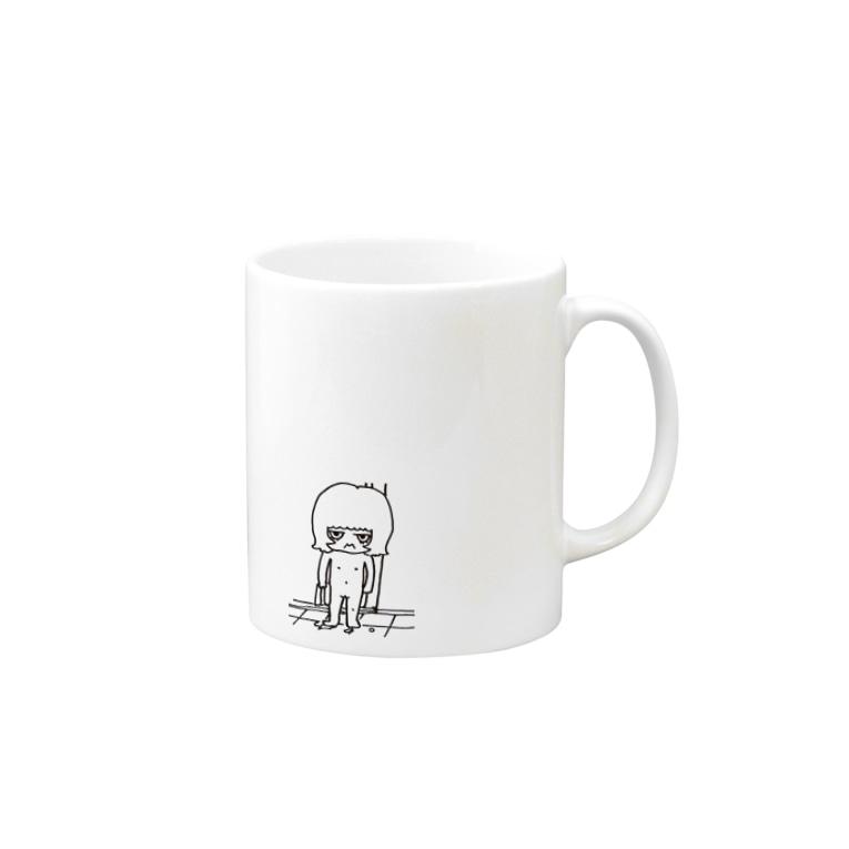 sayonaraGirlのへんくつチャン Mugs