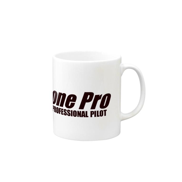 DronePro 株式会社ドローンプロ オフィシャルショップのドローンプロ Mugs