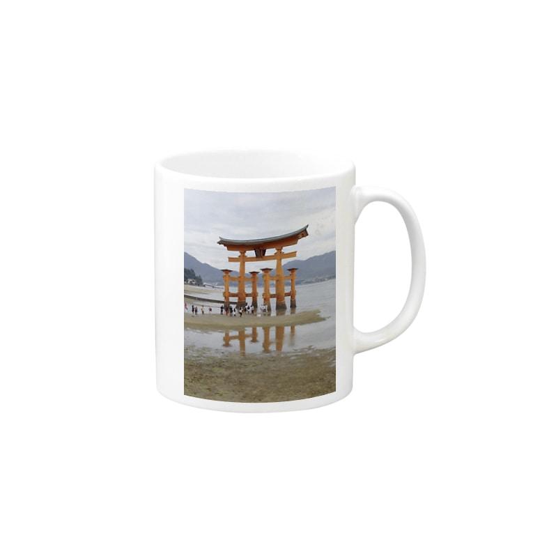 machiawaseの厳島神社 Mugs