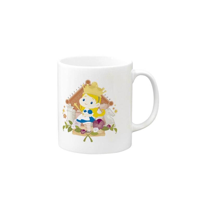 ちいさなアリスマグ マグカップ