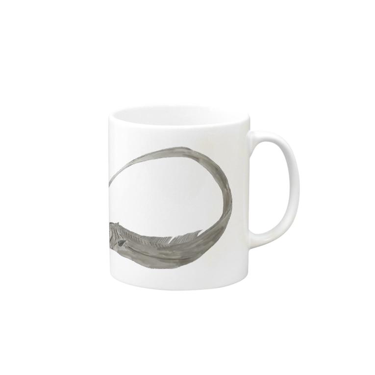 Coshi-Mild-Wildの太刀魚だぞっ‼️ Mugの取っ手の右面