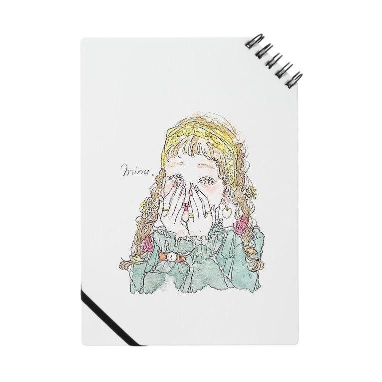 おしゃれ 女の子 Notes By Mina イラスト Mn Lip25 Suzuri