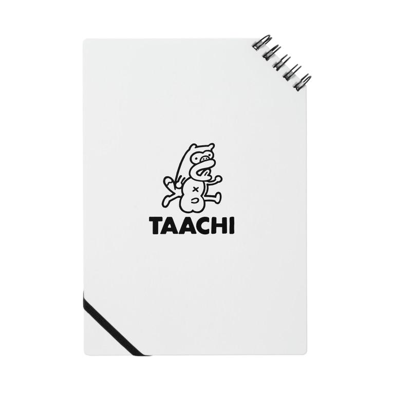 TAACHI illustrationのTAACHI ロゴノート Notes
