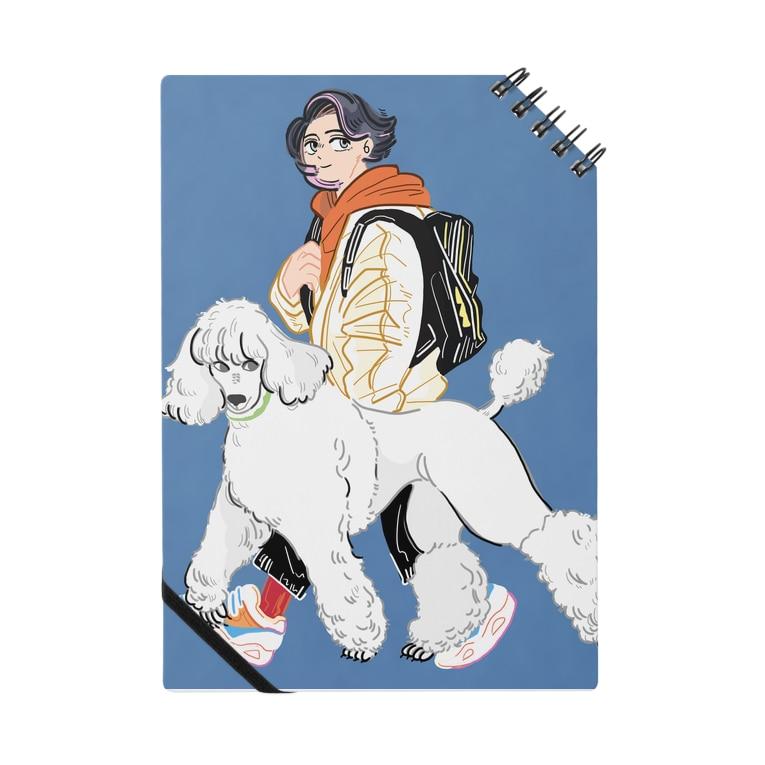 mmiyamotoのまっしろスタンプー Notebook