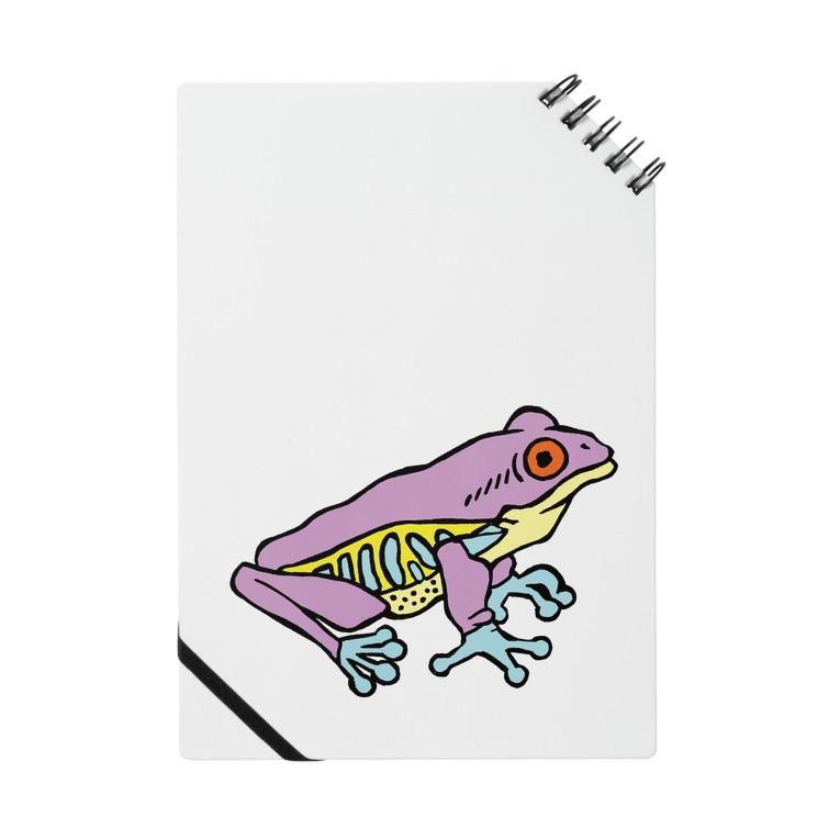 OGNdesignの蛙 カエル NO.8 Notes