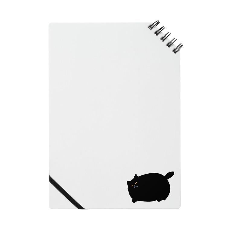 ニャポハウスショップ の黒猫ニャポポさん Notes