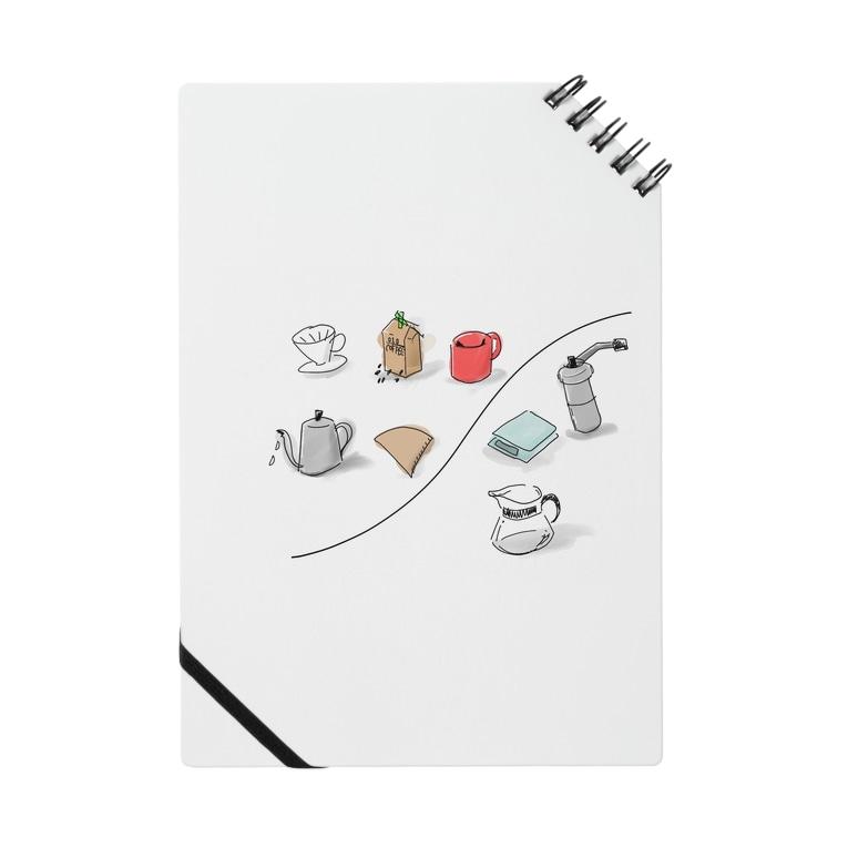 ゼロイチゼロショップのcoffee items Notes