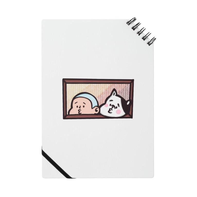 momochan_peのびぃ助と犬の窓からひょっこり Notes