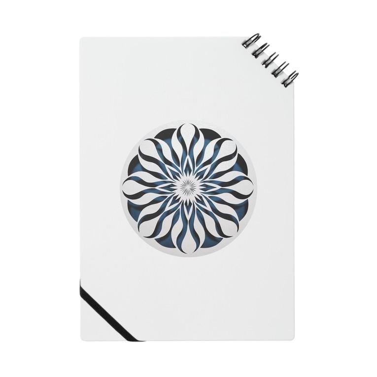 幾何学模様ARTの幾何学模様No.863 Notebook