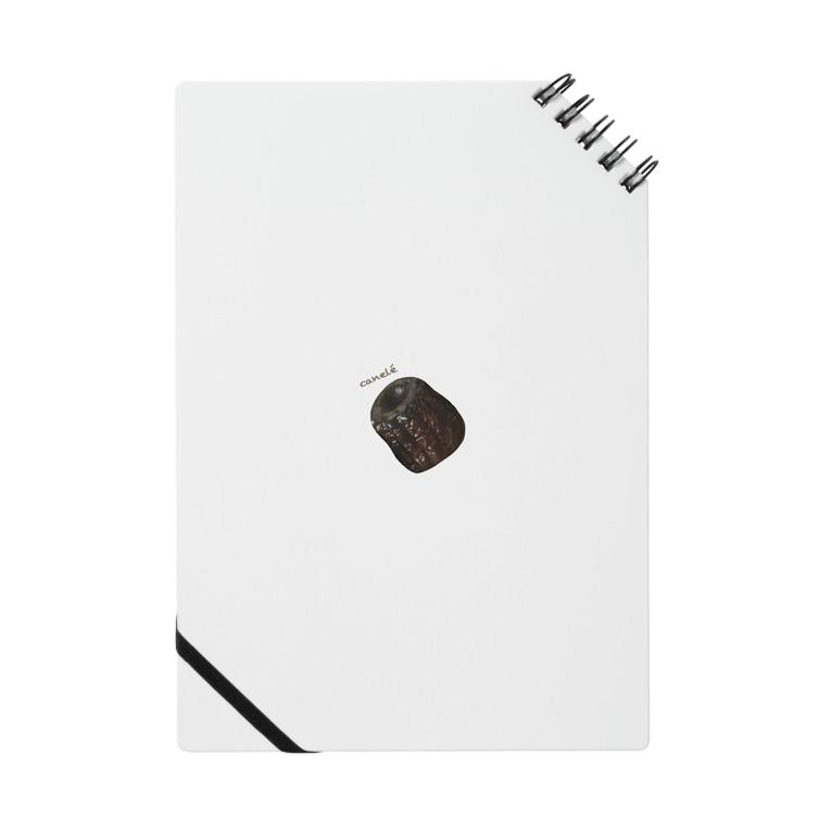 hitosaramonogatari*shopのカヌレ・canelé Notebook