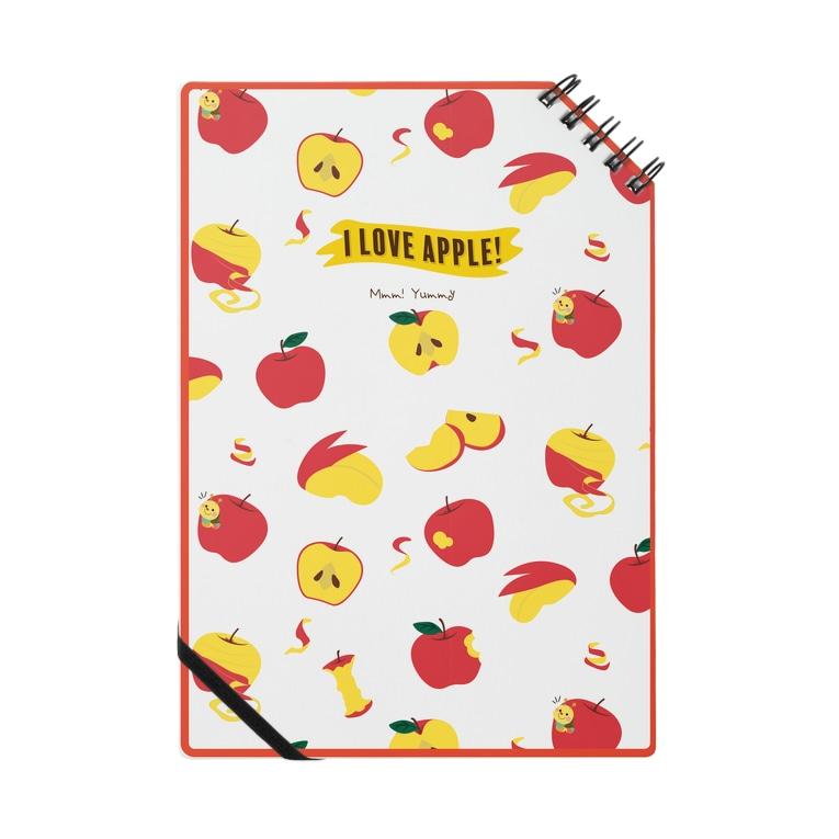 NIWAtoRI to WANIのI Love Apple! Mmm! Yummy Notes