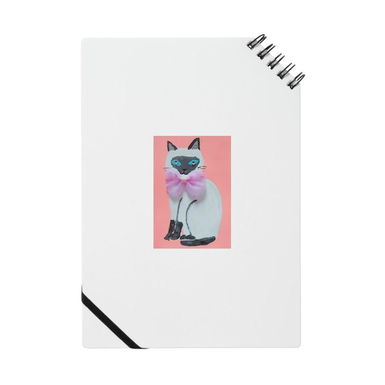 CUTIE BOXのシャムネコちゃん Notes