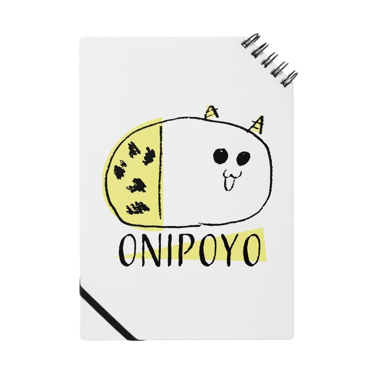 nemunoki paper itemのおにぽよ Notes
