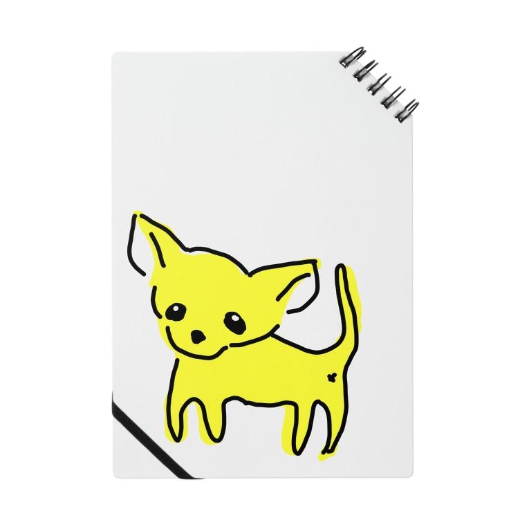 akane_art(茜音工房)のゆるチワワ(イエロー) Notes