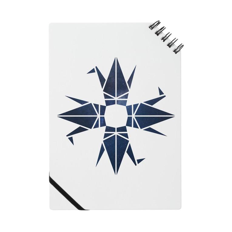 蒔重堂(マキエド)の星空の折り鶴(クアトロ) Notes