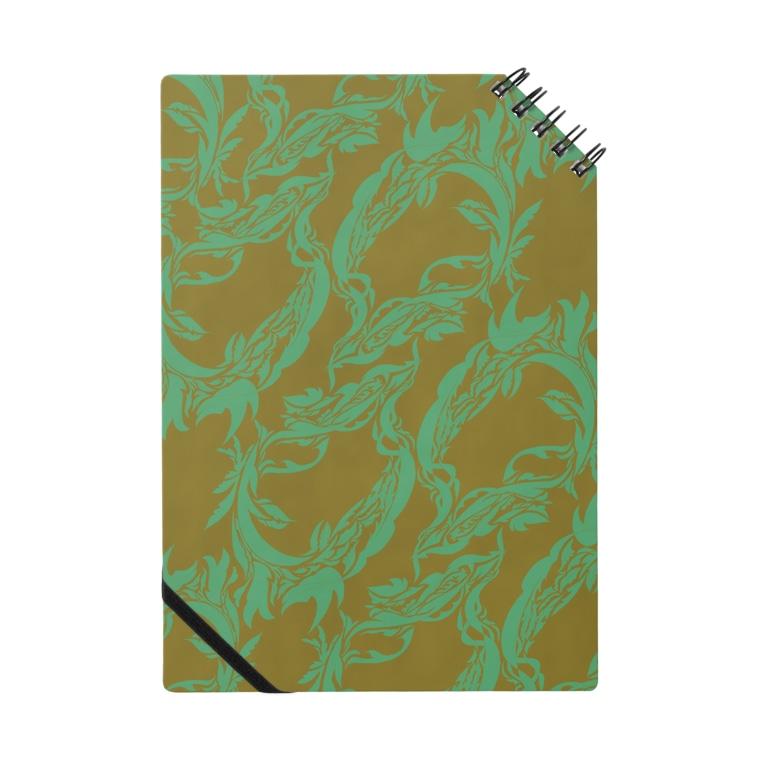 Azumiの模様の蔦 Notebook